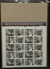 Scott #4440-43 Distinguished Sailors Sheet Of 20 Stamps Mnh - Usps packaging