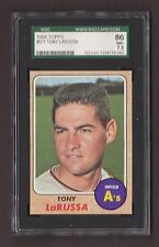 1968 Topps #571 TONY LaRUSSA High SGC 86 NM+ 7.5 Oakland A's Future HOF La Russa