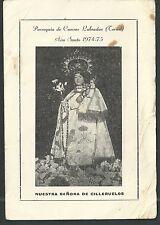 Estampa antigua de Cilleruelos andachtsbild santino holy card santini