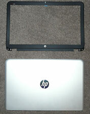 """BRAND NEW GENUINE HP ENVY QUAD 15T 15.6"""" LED LCD SILVER COVER WITH BLACK BEZEL"""