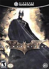 Batman Begins (Nintendo GameCube, 2005) good condinton includes booklet
