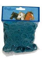 Eldorado - Mähnengummis im Beutel - blau Mähne Gummis
