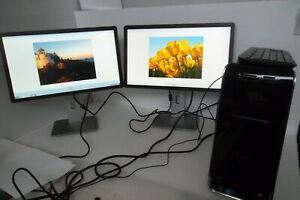 "Dell Studio XPS 8000 Intel Core i7 2.80GHz 8GB 1TB Wi-Fi GTS 240 w/22"" Monitor"
