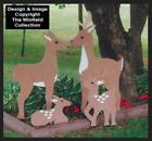 DEER FAMILY YARD DECOR #YD119 ~ Winfield Wood Craft Pattern DYI Woodworknig Plan