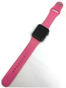 Apple Watch Series 1 38mm Space Gray Aluminum, Sport Band (MP022LL/A)Broken