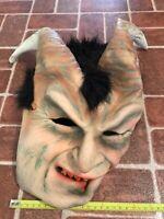 Elegant Horned Devil Adult Latex Zagone Studios Halloween Mask FREE SHIPPING