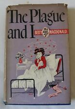 Vintage 1948  Hardback Edition The  Plague and  I  by  Betty  MacDonald