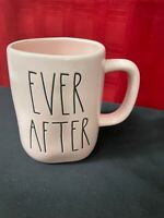 """Rae Dunn Pink """"EVER AFTER"""" Mug Great Valentine's day Gift!"""
