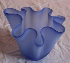 Beautiful ICET Arte Murano Italian Art Glass Handkerchief  Vase