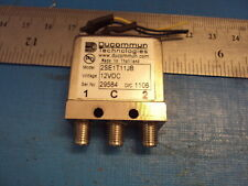 1-QTY Ducommun Ducommun RF 2SE1T11JA Relay SMA DC to 26.5 GHz 12 V DC 2SE1T11JB