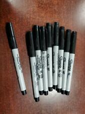 Sharpie Ultra Fine Point Black Permanent Marker quantity of 9 Fresh Stock NEW