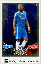 2010-11 Topps Match Attax Star Player Foil No 123 Didier Drogba (Chelsea)