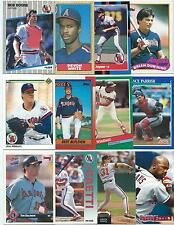 Huge Lot of 1000 Los Angeles Angels of Anaheim Cards; 1986-1997; NM-Mint