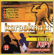 Karaokanta CD+G Pop vol-1 Pistas Musicales De..Juanes,Shakira,alejandro Sanz+