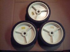 """Set Of 3 6"""" X 1-1/2"""" X 1/2"""" Plastic Wheel For Lawn Mowers & Other Applications"""