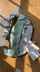 The North Face - Lumbar Pack Belt Bag waist fanny -Agave Green/Vanadis Grey/Kelp