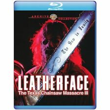 Blu Ray LEATHERFACE The Texas Chainsaw Massacre III 3. Region free. New sealed.