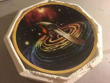 1994 Hamilton Collection Star Trek Ferengi Marauder Collector Plate Coa