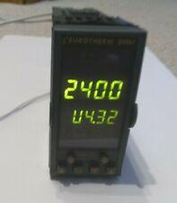 Eurotherm 2408f Cpvhlhl2xxrfpbxxeng Temperature Process Controller