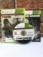 Tomb Raider Game of the Year Edition Boxed & Complete Xbox 360