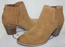 c00a8c56d06 Steve Madden Women s Tinker booties Cognac Tan Suede New With ...