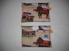 Breyer stablemate pony pocket pouch custom model horse transport fabric