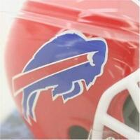 Buffalo Bills Football Helmet Jersey Alarm Clock NFL Desk Travel LCD NEW NIB