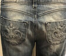 SIWY NWOT Ash Wash.Bell Bottom Flare Jeans My Heart 26 $196 SprinCollection 2011