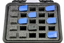 New ArmourCase 1300 case includes precut 25 mag Pistol case Gun foam + nameplate