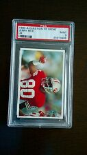 RARE - Jerry Rice - A Question of Sport 1994 Card - PSA 9 (MINT)