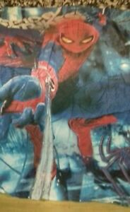 Spiderman Single Duvet Cover and pillowcase