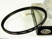 Kenko 77mm UV Digital Filter Lens Protection for 77mm filter thread - UK Stock