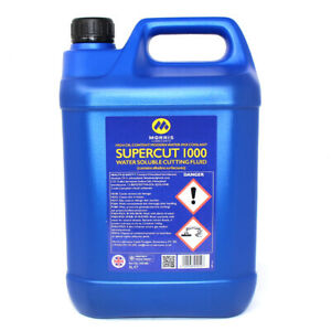 MORRIS SUPERCUT 1000 WATER SOLUBLE CUTTING FLUID HIGH OIL CONTENT COOLANT