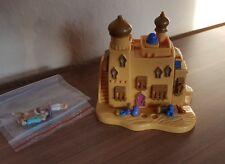 Polly POCKET DISNEY 1995-Aladdin Agrabah Marketplace - 100% COMPLETO