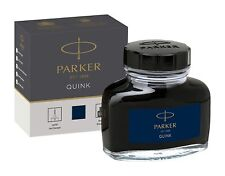 Parker Quink Fountain Pen Ink Bottle 30ml Blue Ink Free Shipping
