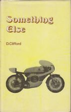 D. Clifford SOMETHING ELSE 1st Ed. HC Book