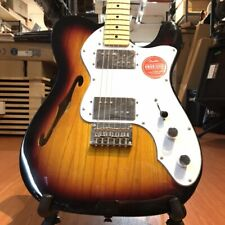 Fender Squier Vintage Modified 72 Telecaster Thinline Maple Neck 3 Tone Sunburst