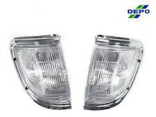 USA FAST SHIP 95 96 TOYOTA TACOMA 2WD DEPO FRONT CLEAR CORNER LIGHTS LAMPS