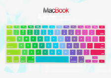 "US Version Rainbow Keyboard Cover Skin for MacBook Pro White Air 11"" 12"" 13"" 15"""