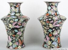 China 20. JH. par 'mariposa' jarrones-a pair of Chinese 'Butterfly' vases