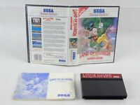 Land Of Illusion Mickey Mouse Sega Master System Complete PAL