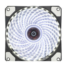 Computer Case PC RGB Cooling Fan LED 120mm Cooler with Remote Control Quiet Fan