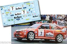 Decal 1:43 Gregorio Picar - FORD ESCORT WRC - Rally El Corte Ingles 2000