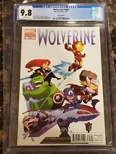 Wolverine #304 1:25 Gurihiru Variant CGC 9.8 Kid Avengers