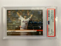 2019 Topps Now Pete Alonso RC PSA 10 #913 53rd HR Sets Rookie Record Mets Rookie