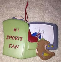 Christmas Tree Ornament - #1 Sports Fan