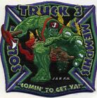 """Memphis  Truck-3  """"Comin To Get Ya"""", Tennessee (4"""" x 4"""" size) fire patch"""