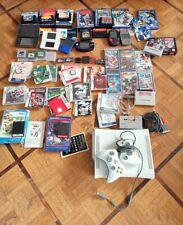 LOT 5 CONSOLES NINTENDO GAMEBOY DS XL XBOX 360 + 37 JEUX PS SEGA GAMEBOY VINTAGE