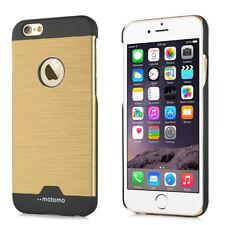 "Apple iPhone 6 6S 4.7"" Motomo Alu Hard Case Metall Ultra Thin Schutz Hülle Gold"