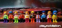 PLAYMOBIL 123 GEOBRA VINTAGE BUNDLE OF 10 FIGURES BOYS GIRLS (A)